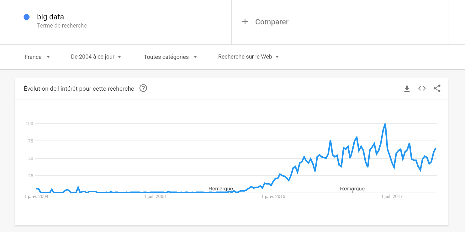 big data google trends france