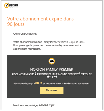 exemple email norton 1